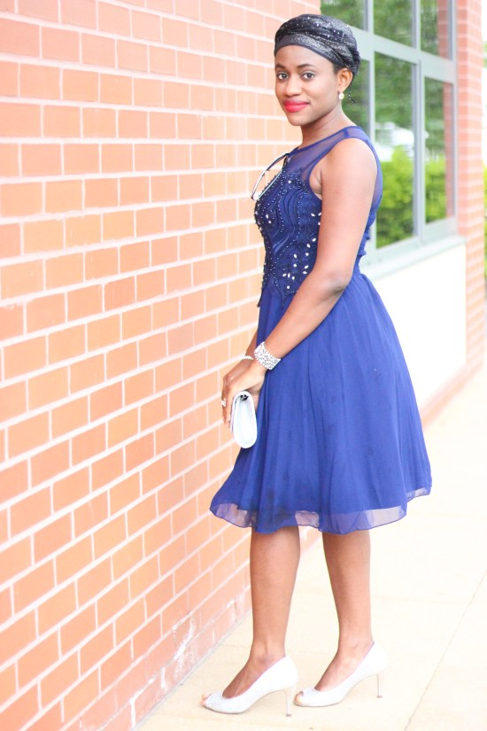 Occasion Blue Dress Image copy