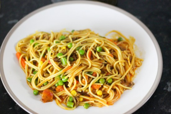 Spaghetti Bolognese with Greek Yoghurt Image copy