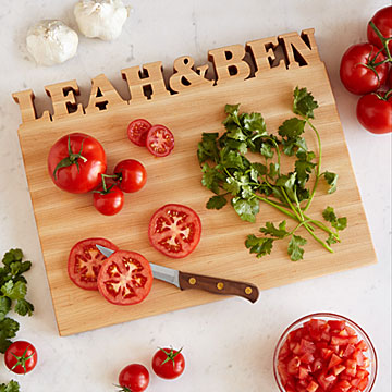 Personalised Cutting Board Image
