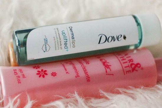 Dove Body Oil Picture