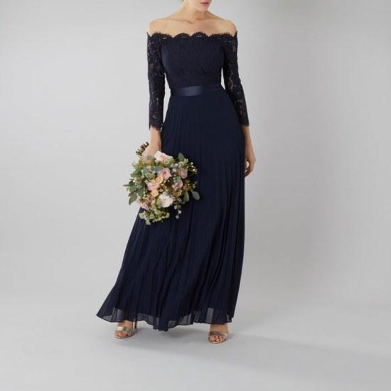 Navy Blue Dress image