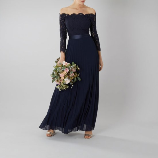 Navy Blue Dress image
