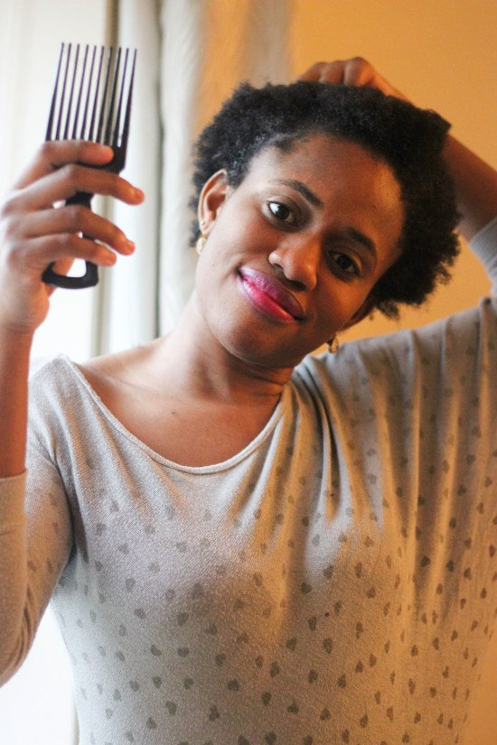 afro hair care image