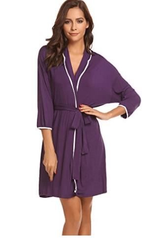 Purple Bathrobe Picture