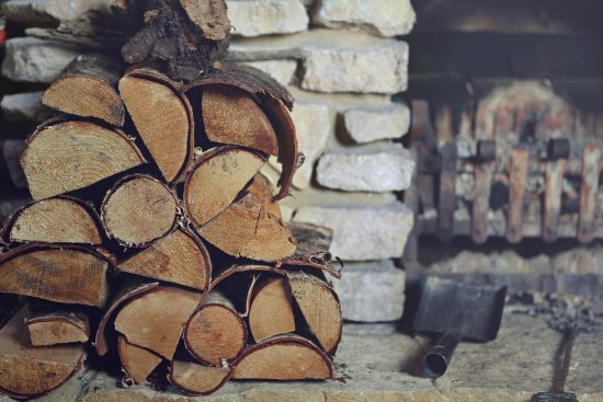 Stacked Firewood image