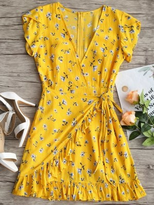 Summer Yellow Dress Image