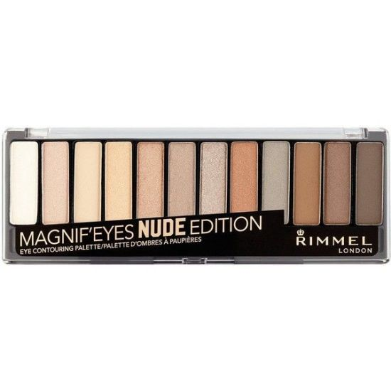 Rimmel London 12 pan eyeshadow nude edition palette picture