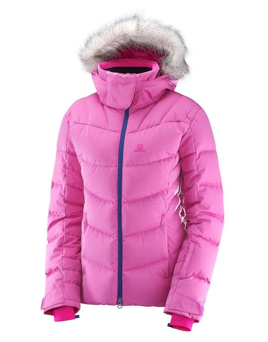 WOMENS ICETOWN JACKET - ROSE VIOLET HEATHER image