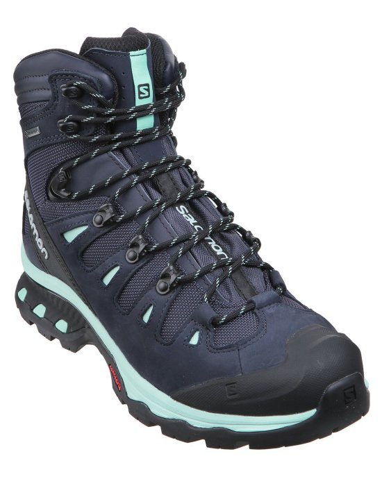 WOMENS QUEST 4D 3 GTX WALKING BOOT - GRAPHITE BEACH GLASS Image