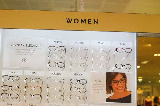 Women's Glasses M&S Opticians Image