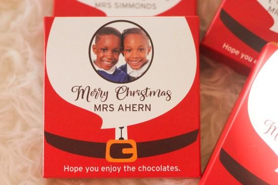 Vanilla Reindeer Chocolates image