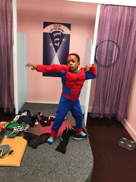Spiderman Costume Picture