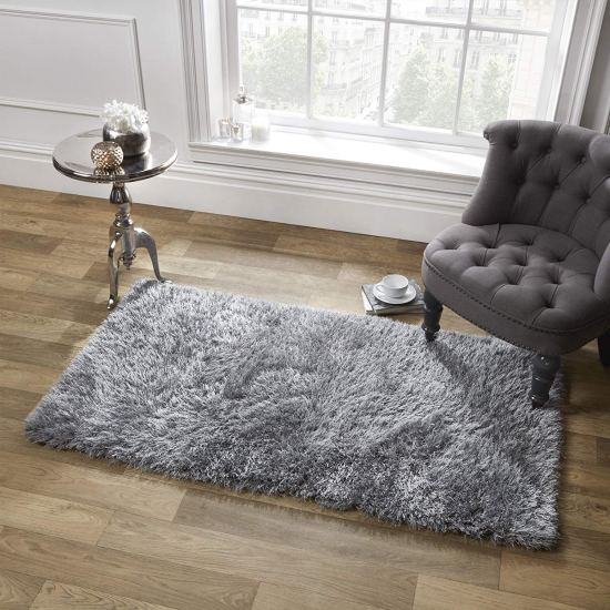 Sienna Large Soft Shaggy Floor Rug Mat Runner Carpet 5cm Non-Shed Pile image