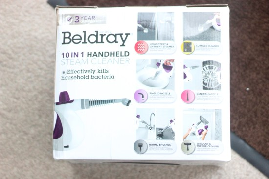 Beldray Steam Cleaner Review Image