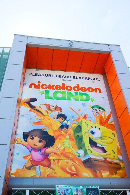 Nickelodeon Land Park Picture