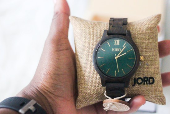 Modern wood watch by JORD image