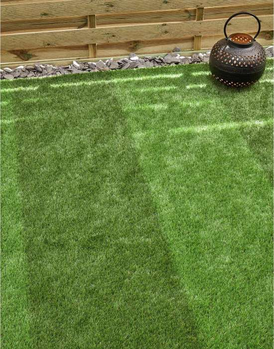 Artificial grass lawn image