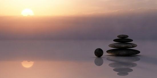 Meditating image