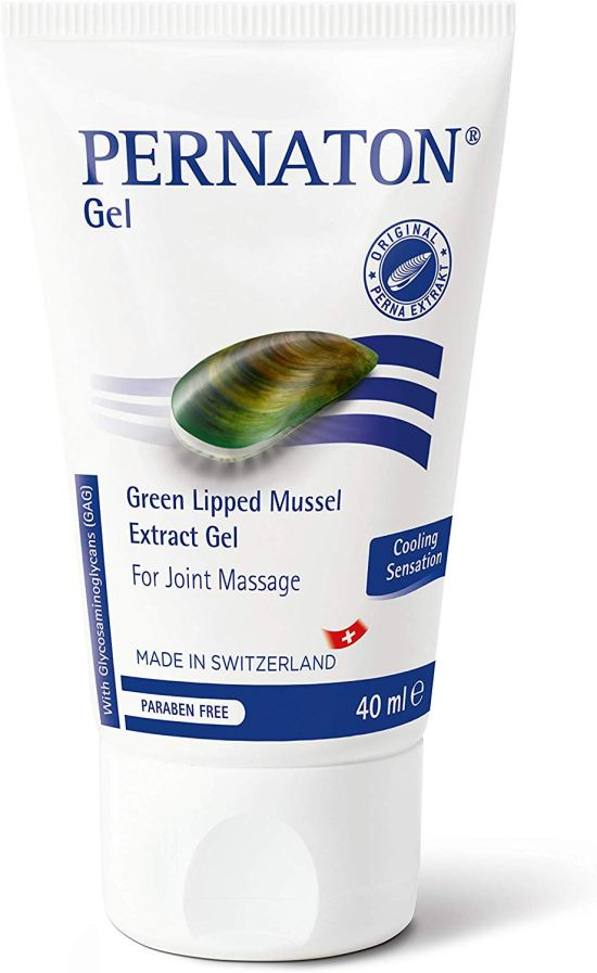 Pernaton Green Lipped Mussel Gel for Joint Massage image