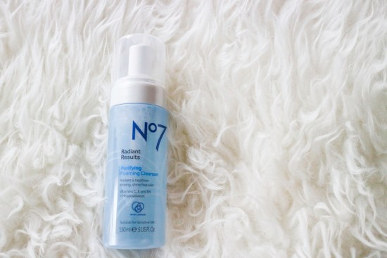 No 7 Purifying and Foaming Cleanser image