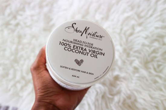 Shea Moisture 100% Extra Virgin Coconut Oil image