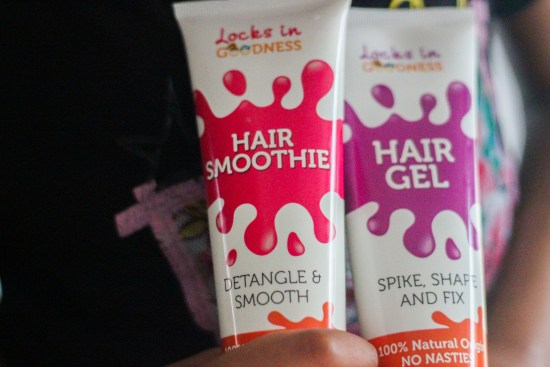 Locks in Goodness Hair Smoothie and Gel image