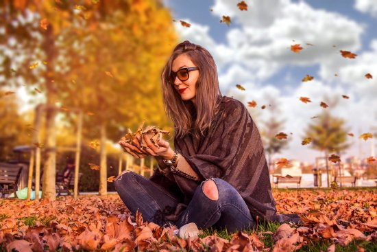 Autumn fashion image