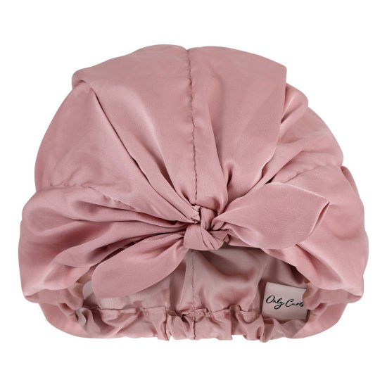 Only Curls Satin Sleep Turban - Dusty Rose picture