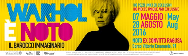 Warhol E Noto: official poster