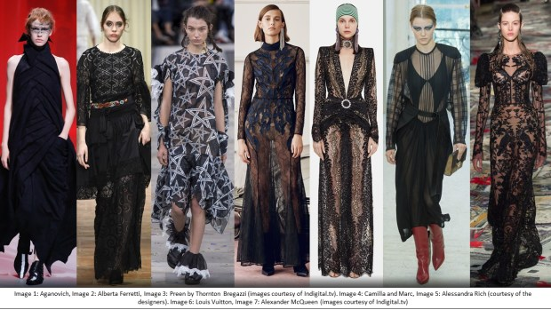 Spring Summer 17 trends: black magic dresses