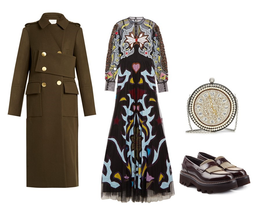 Holiday season outfits: eclectic