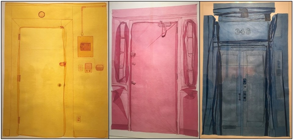 Details from Do Ho Suh's exhibition