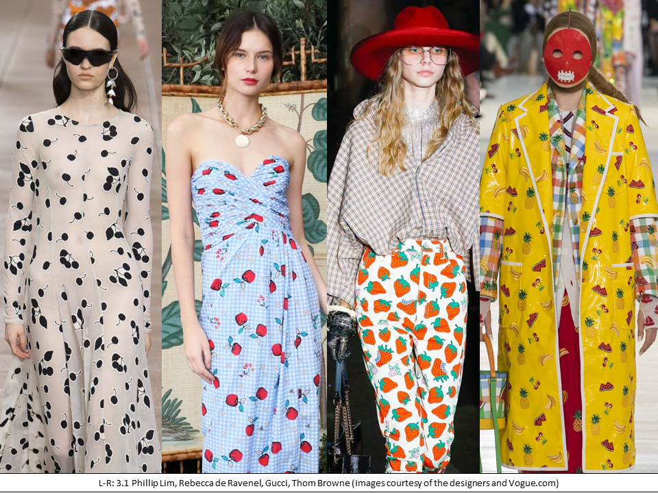 Spring Summer 2019 Trends Overview Vol 1 Colour Prints Graphics
