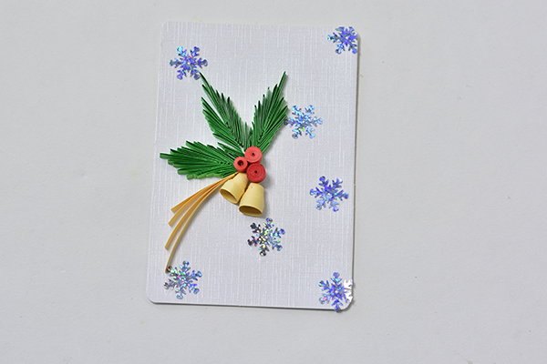 How To Make A Quilling Paper Christmas Card Fashion