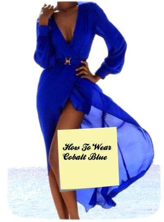 how to wear cobalt blue 2