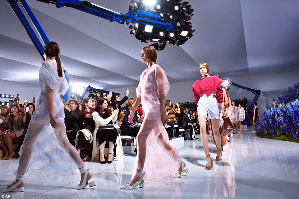 We need to talk about… the Dior SS/16 show
