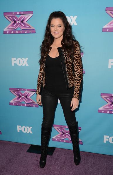 Splurge-Khloe-Kardashians-alc-leopard-fur-saville-jacket-and-christian-louboutin-Nardja-Over-The-Knee-Boots