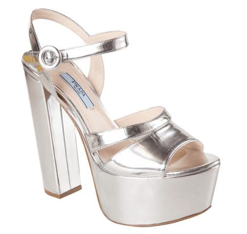 Prada-Metallic-Platform-Sandal
