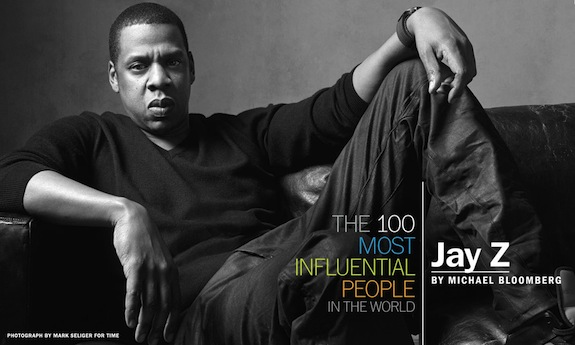 jay z time magazine 100 most influential people in the world