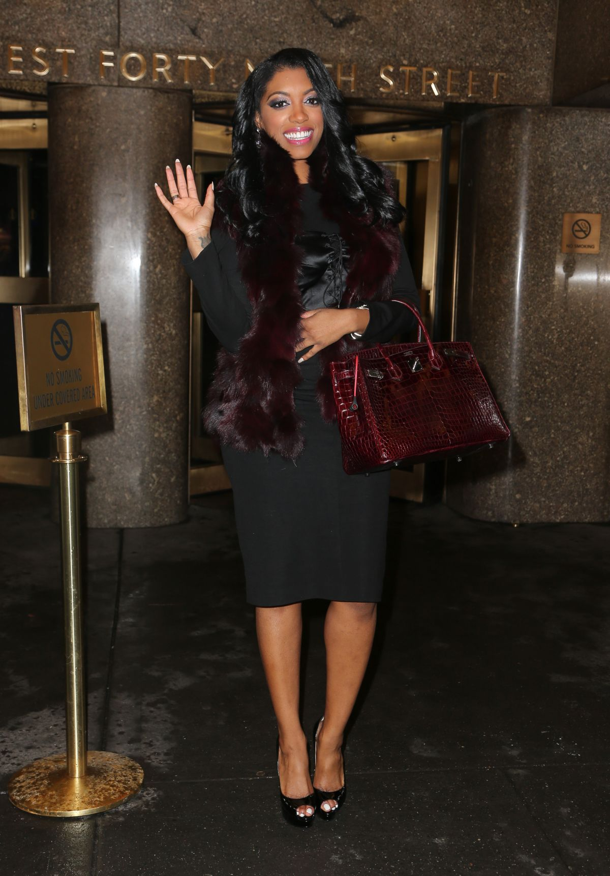 porsha-williams-nbc-studios