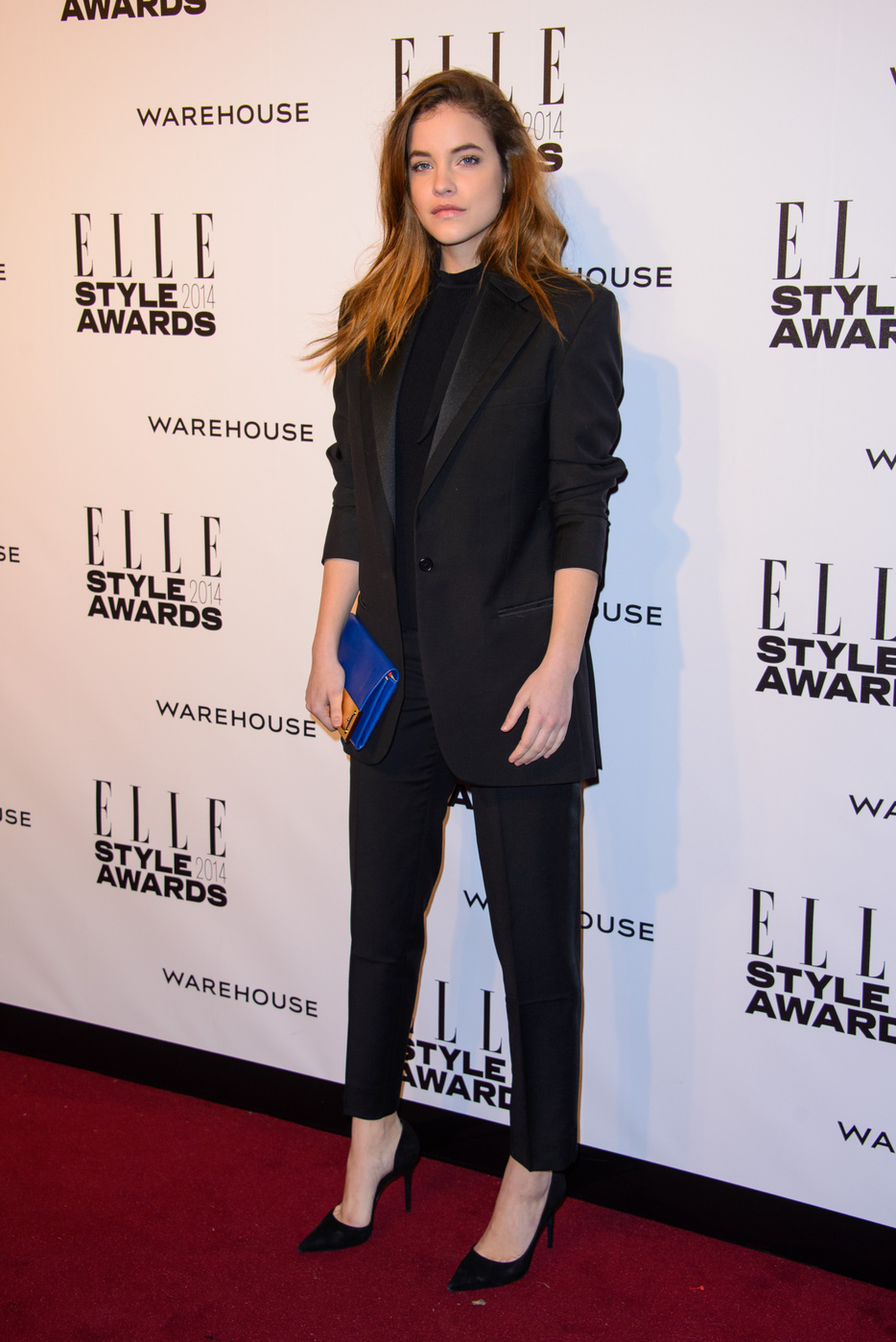 Barbara Palvin attends  the Elle Style Awards 2014 at one Embankment in London