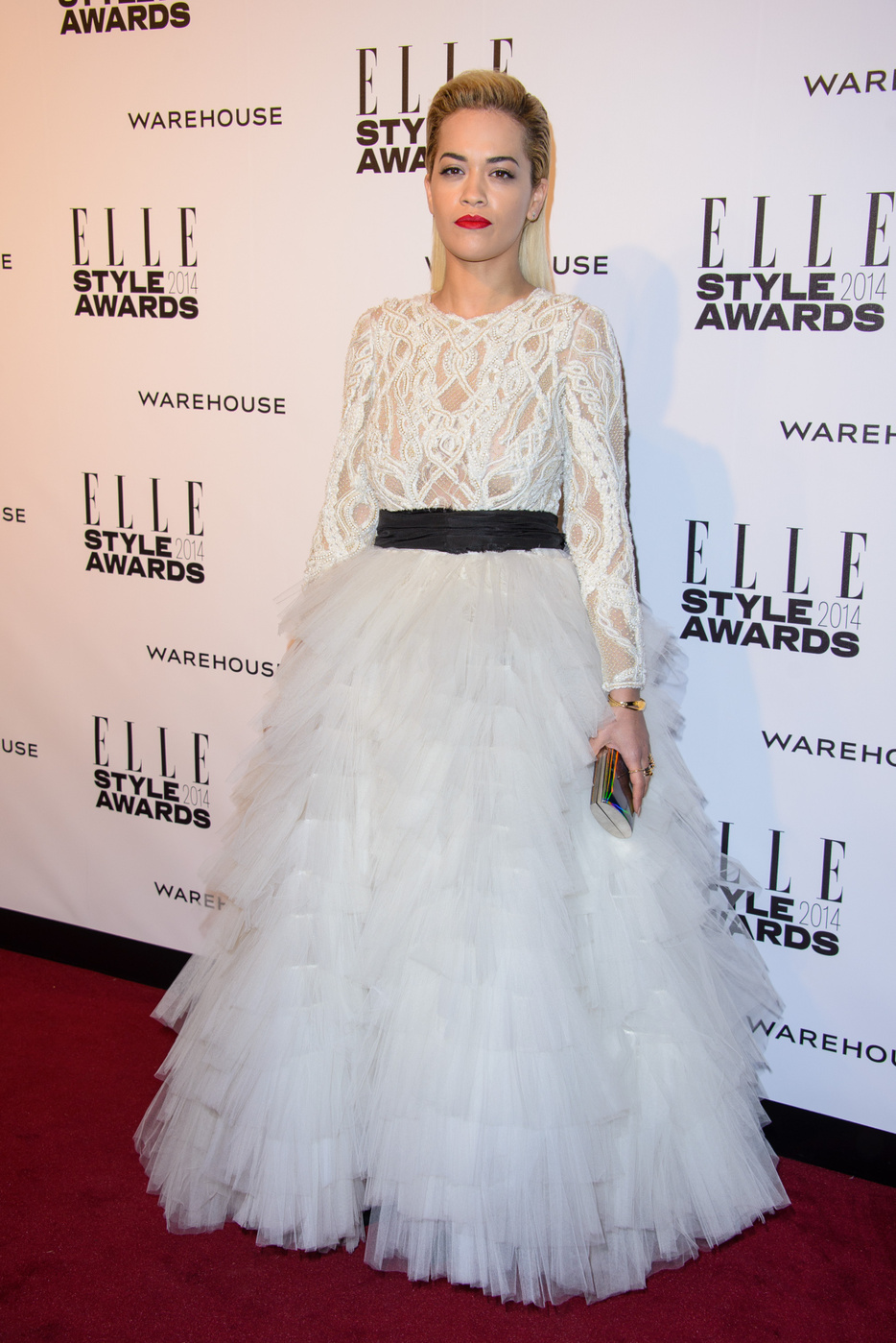 Rita Ora attends the Elle Style Awards 2014 at one Embankment in London