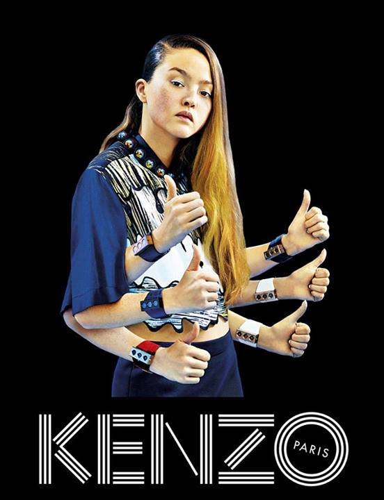 devon-aoki-paul-boche-kenzo-spring-2014-ad-campaign