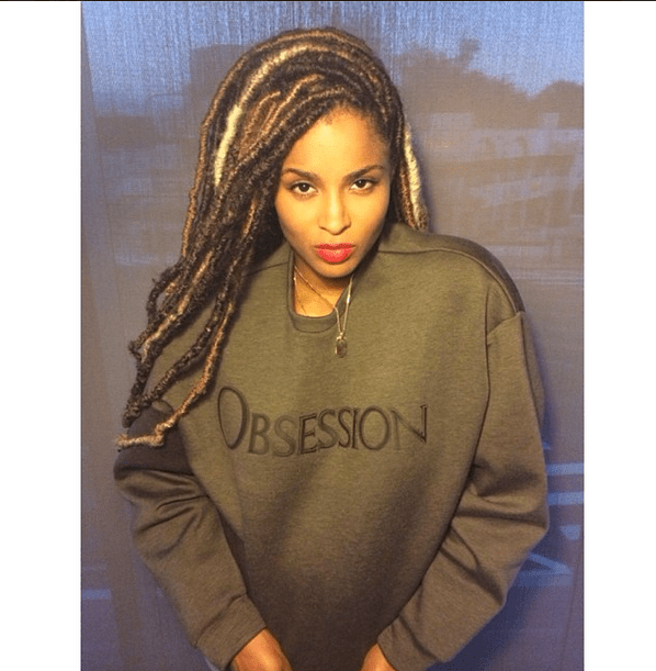 Ciara dreadlocks