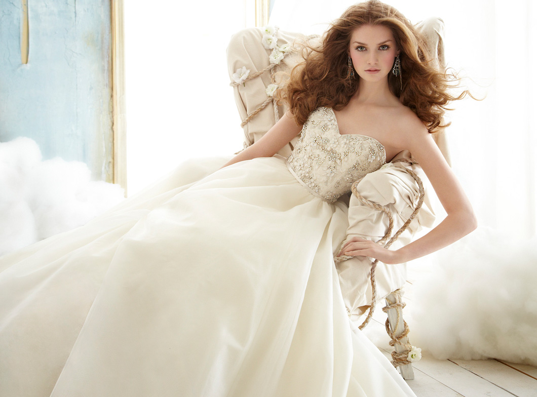 Jim Hjelm 2012 Fall Bridal Collection