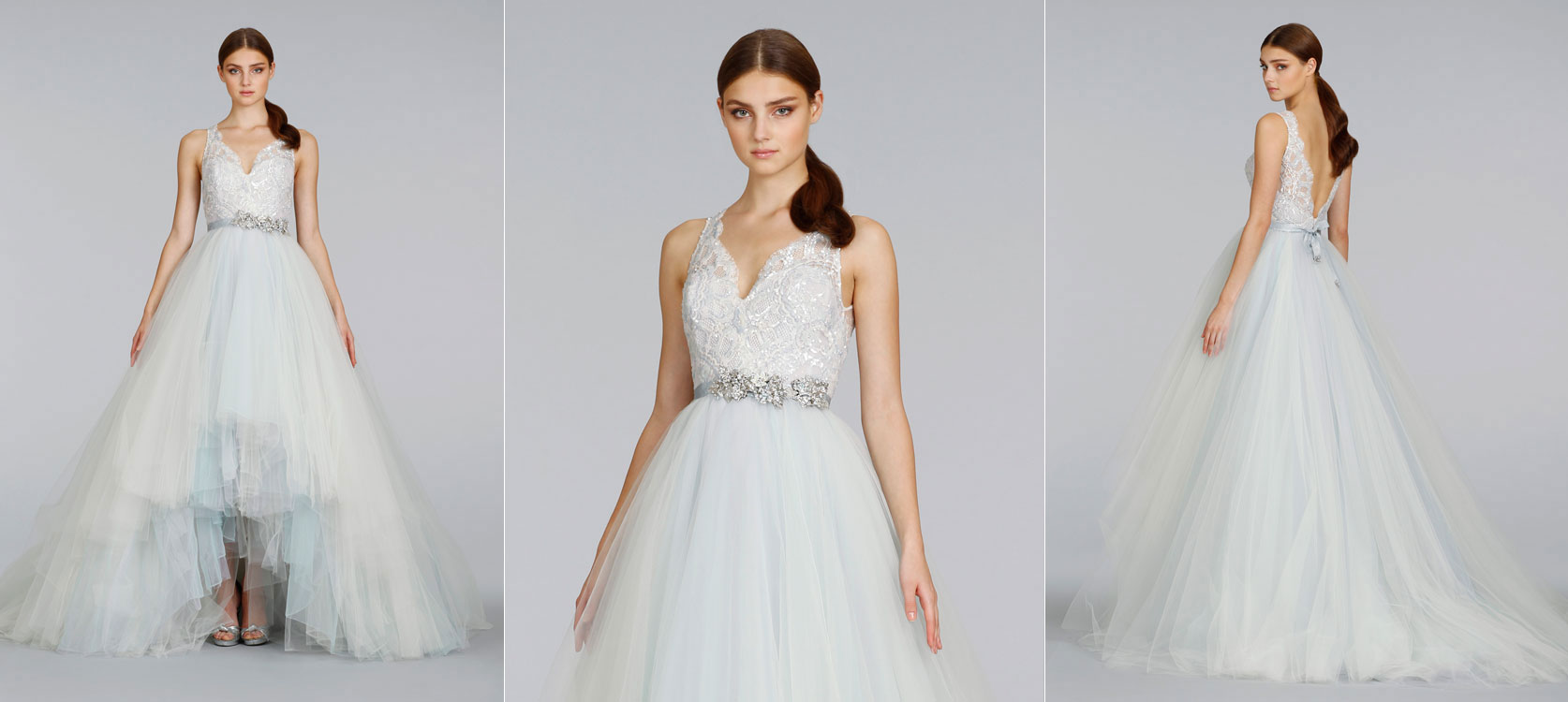Lazaro-bridal-tulle-ball-gown-beaded-lace-v-neck-crystal