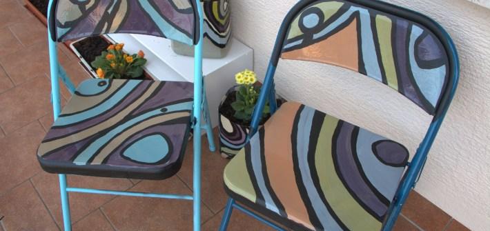 DIY Patio Chairs