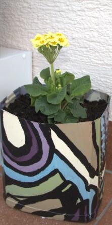 Painting DIY Flower Pot