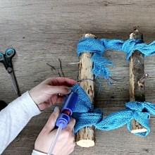Beach Garden Ideas: Easy to Make Small Trellis DIY