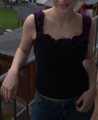 Easy DIY Top from Old Clothes
